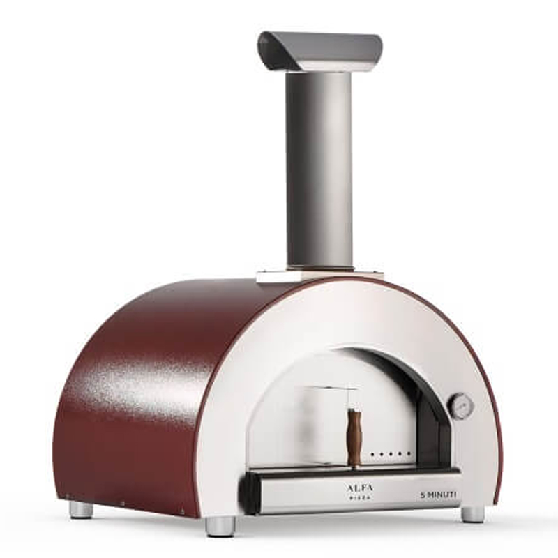 5 minuti oven outside fired wood cooking