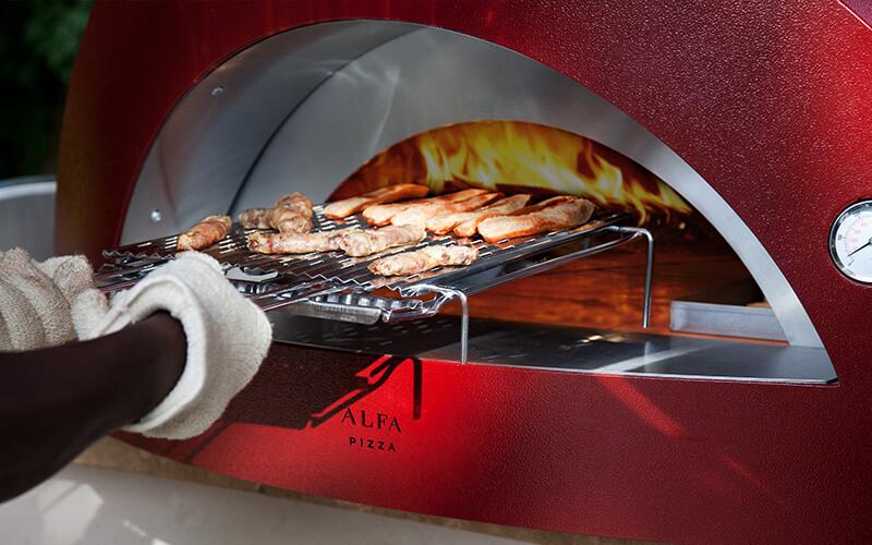 pizza baking