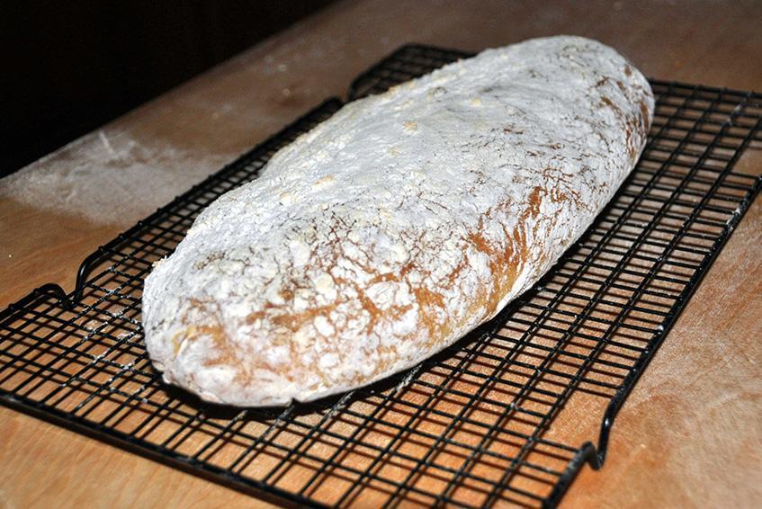 italian bread pizza oven