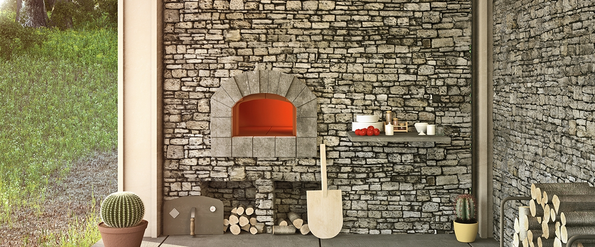 modular outdoor oven for cookiing